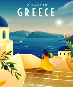 greece-illustration-paint-by-number