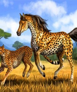 hybrid-cheetah-horse-paint-by-numbers