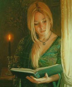 lady-reading-a-book-paint-by-numbers