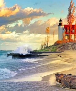lighthouse-scenery-paint-by-numbers