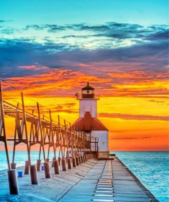 lighthouse-sunset-paint-by-numbers