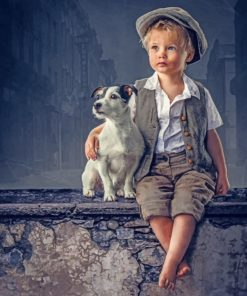 little-boy-with-his-puppy-paint-by-numbers