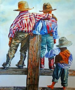 little-cowboys-paint-by-numbers