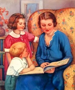 mom-reading-a-book-paint-by-numbers