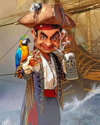 mr-bean-pirate-paint-by-numbers