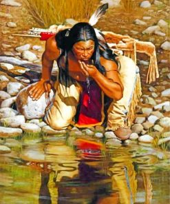 native-american-paint-by-numbers