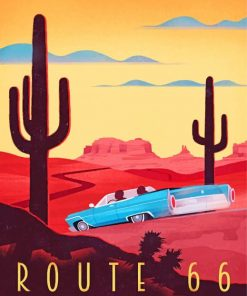 retro-route-66-paint-by-numbers
