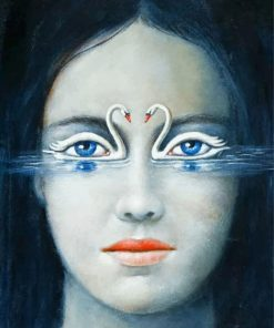 swans-eyes-paint-by-number
