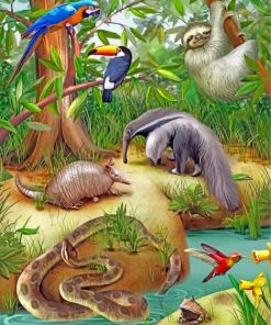 wild-animals-paint-by-number