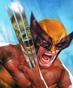 wolverine-illustration-paint-by-number