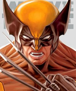 wolverine-portrait-paint-by-numbers