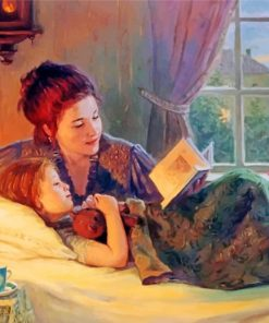 woman-and-daughter-paint-by-number