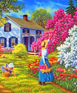 woman-and-daughter-paint-by-numbers