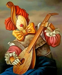 wooden-clown-paint-by-number