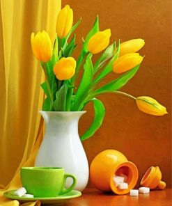 yellow-tulips-still-life-paint-by-number