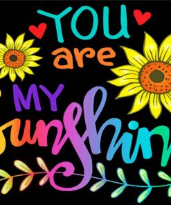 you-are-my-sunshine-hand-lettering-paint-by-number