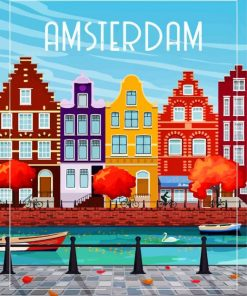Amsterdam Paint by numbers
