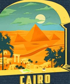 Cairo Egypt Paint by numbers
