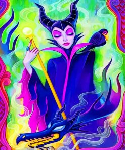 Disney Maleficent Paint by numbers