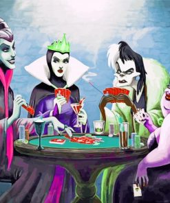Disney Villains Paint by numbers