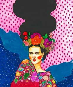 Frida Art Paint by numbers