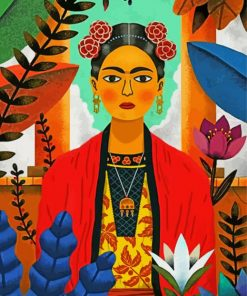 Frida Kahlo Art Paint by numbers