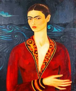Frida Kahlo Portrait Paint by numbers
