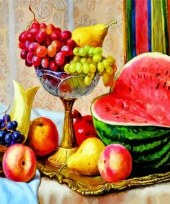 Fruits Still Life Paint by numbers