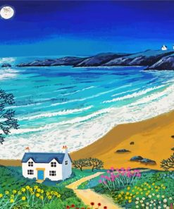 House By Sea Paint by numbers