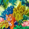 Jungle Tiger Paint by numbers