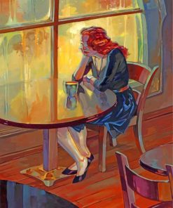 Lonely Woman Paint by numbers