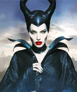 Maleficent Paint by numbers