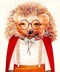 Mr Hedgehog Paint by numbers