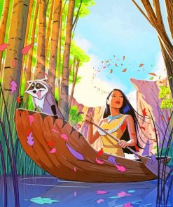 Pocahontas Paint by numbers