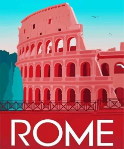 Rome Italy Paint by numbers