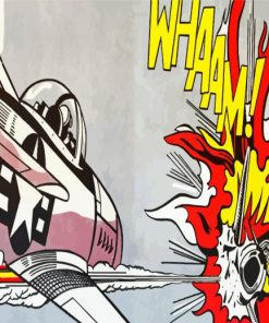 Roy-Lichtenstein-Whaam-paint-by-number