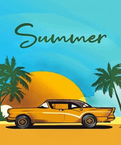 Summer Car Paint by numbers