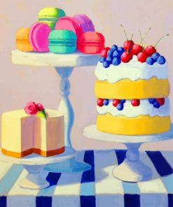 Sweet Cakes Paint by numbers