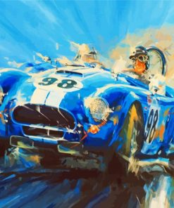 abstract-car-racer-paint-by-numbers