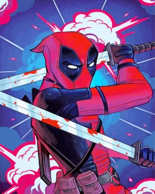 aesthetic-deadpool-paint-by-number