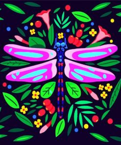 aesthetic-dragonfly-paint-by-number