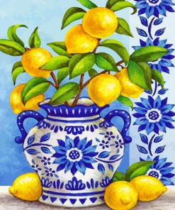 aesthetic-lemon-plant-paint-by-number
