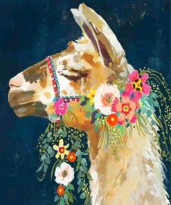 aesthetic-llama-paint-by-number
