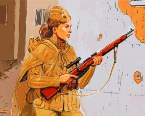 aesthetic-sniper-soldier-woman-paint-by-numbers