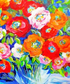 bouquet-flowers-paint-by-numbers