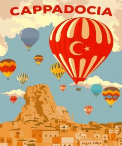 Cappadocia Turkey Paint by numbers