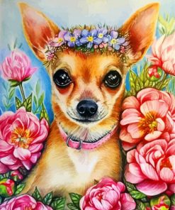 chihuaha-dog-paint-by-number