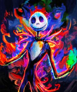 colorful-jack-nightmare-before-christmas-paint-by-numbers