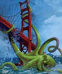 cthulhu-and-the-bridge-paint-by-numbers