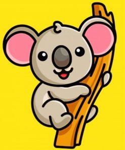 cute-koala-paint-by-numbers